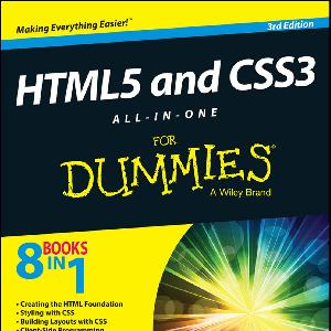 HTML 5 and CSS 3 All in One for Dummies 2014 PDF   Free download PDF and Read online