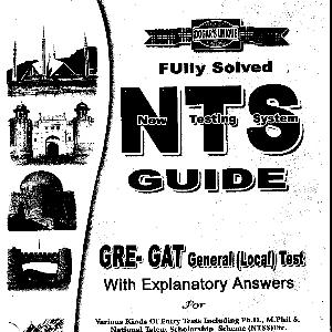 Dogar's Unique Guide for NTS Fully Solved   Free download PDF and Read online