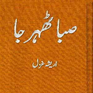 Saba Thehar Jaa     Free download PDF and Read online